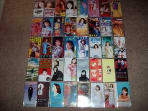 Moritaka Chisato's cd singles