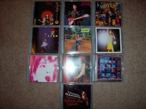 Moritaka Chisato's dvds.