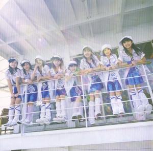 """Berryz Koubou """"Piririto yukou!"""" pv DVD single inner jacket scan)"""