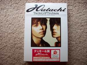 "Tackey & Tsubasa ""Hatachi"" album (first pressing)"