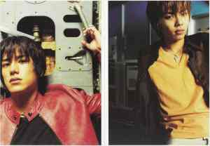 Tackey & Tsubasa Hatachi photo scans 3 & 4