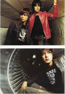 Tackey & Tsubasa Hatachi photo scans1 & 2