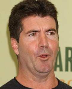The always lovable Simon Cowell