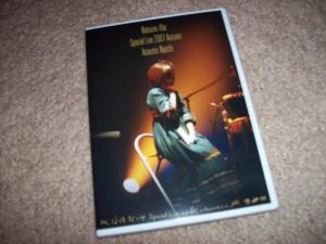 "Abe Natsumi ""Special Live 2007 Autumn Acoustic Nacchi"" DVD"