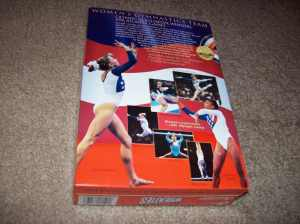 Wheaties women's gymnastics gold medal collector's box.