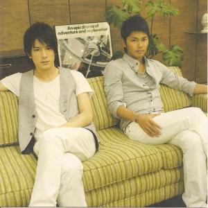 """Tackey & Tsubasa Jacket B (""""Uta ban"""") booklet cover scan."""