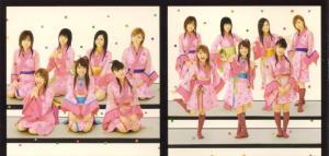 """""""Sakura mankai"""" pv DVD single (inner jacket scan)"""