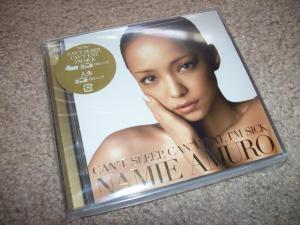 """Amuro Namie """"Can't Sleep, Can't Eat, I'm Sick"""" LE CD release"""