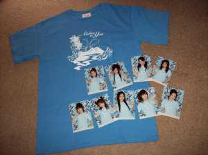 Momusu in Hawaii T-shirt set