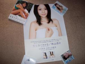 Akiyama Nana poster (from Cdjapan)