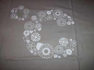 """C-ute """"Wasuretakunai Natsu"""" concert shirt (front)"""