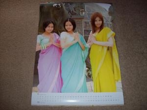 Cute calendar 2009 September & October
