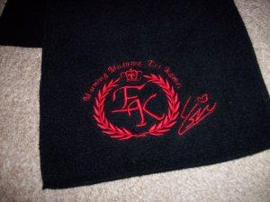 2007 Kamei scarf (logo & signature)