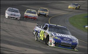 Jimmie Johnson wins at Phoenix International Speedway!