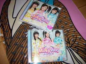 "MilkyWay ""Anataboshi"" LE CD single & pv DVD single """