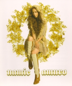 "Amuro Namie ""White Light"" Single (cover scan)"