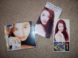 My Nakama Yukie CDs =)
