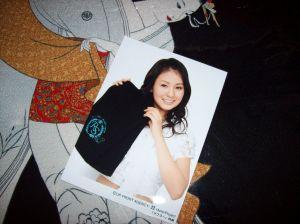 2007 Risakochan accompanying scarf photo