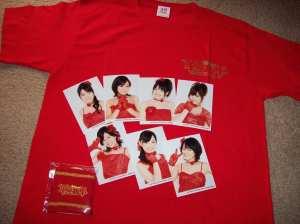 2009 C-ute Kakumei Gannen T-shirt set