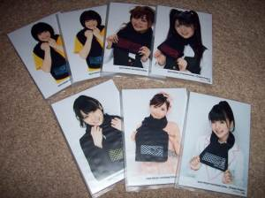 2008 H!P scarf photo sets