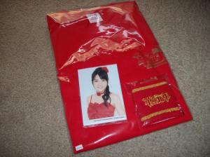"C-ute ""Kakumei gannen"" concert T-shirt set"