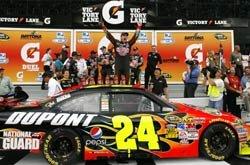 Jeff Gordon wins 1st Gatorade Duel at Daytona!