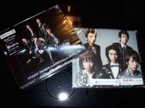 "Arashi ""Believe""/ Kumori nochi, kaisei"" LE (type A) & RE singles"