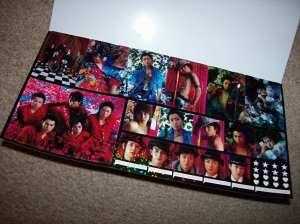 Arashi hologram style sticker sheet