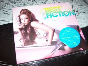 "Amuro Namie ""Best Fiction"" CD + DVD edition"