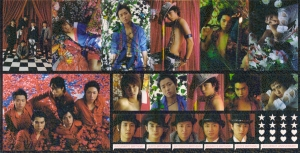 Arashi calendar hologram ♥stickers♥ ^ ^