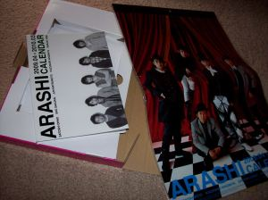 Arashi 2009.04 -> 2010.03 calendar