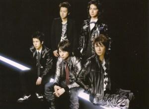 "Arashi ""Believe""/ ""Kumori nochi, kaisei"" LE type A (back cover scan)"