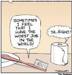 Worst job…(^q^)