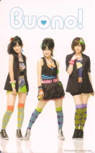 "Buono! ""My Boy"" LE CD single photo card (scan)"