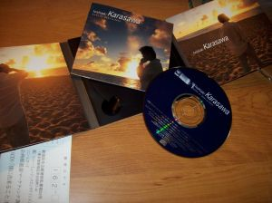 """Karasawa Toshiaki """"Boku ni dekiru koto"""" CD release"""