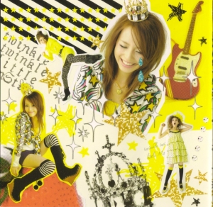 "Hirano Aya ""MonStAR"" single (inner jacket scan)"