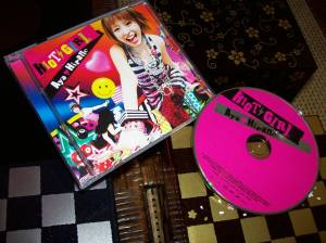 "Hirano Aya ""Riot Girl"" debut album!"