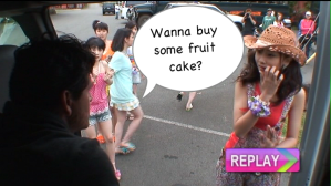 Our hidden camera captured the following... :o