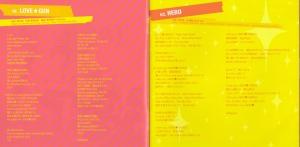 """Hirano Aya """"Riot Girl"""" liner notes (scan) """""""