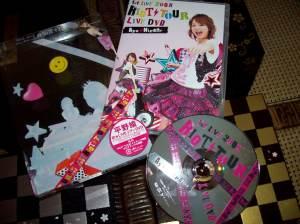 "Hirano Aya ""1st Live 2008 Riot Tour Live DVD"""