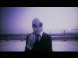 *Alien*。。。かしら?No wait it's just the boss! XD