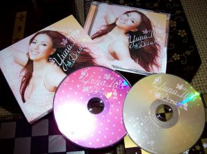 """Ito Yuna """"Dream"""" LE first pressing CD w/DVD release"""