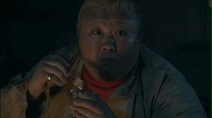 """Waki Tomohiro in """"Onechanbara""""..."""