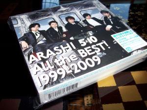 Arashi giveaway CD~