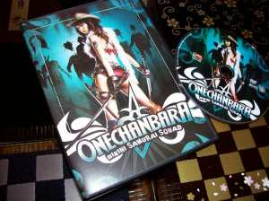 """Onechanbara"" on DVD (domestic U.S. release)"