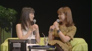 Manoeri's special VTR MC with Kato Noriko...
