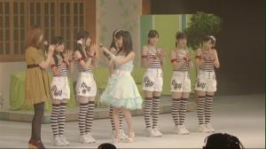 "Manoeri & H!P Eggs in ""Debut Concert ~Otome no inori~""..."