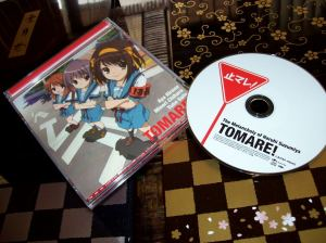 "The Melancholy of Haruhi Suzumiya ""Tomare!"" CD single"