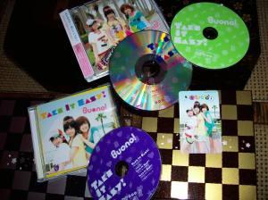 "Buono! ""Take It Easy!"" LE CD & pv DVD single releases~"