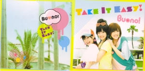 "Buono! ""Take It Easy!"" pv DVD single (jacket cover scan)"